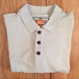 Tommy Bahama silk/cotton polo shirt